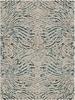 Kaleidoscope Beige / Teal Blue YA001