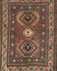 Antique Caucasian Kazak Rug circa 1880