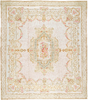 Renaissance Pile Aubusson. Cream/Ivory